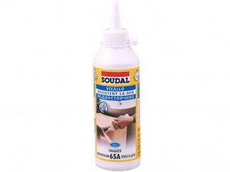 Водоустойчиво лепило за дърво Soudal 65A D3 - 250 гр