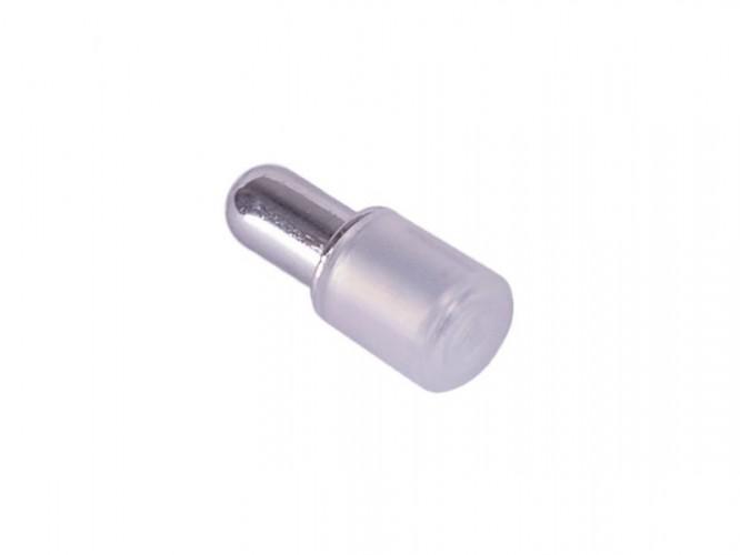 Метален рафтоносач със силикон Дупло