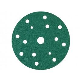 Абразивен велкро диск с филмова основа Sunmight L312T - ф150 мм, P40