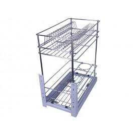 Кухненски кош за вграждане в шкаф KAMA DMK-300