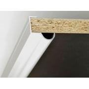 Алуминиева кант дръжка за мебели K01 - 2.5 метра