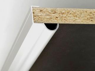 Кант дръжки за плъзгащи врати на мебели MD-K01 - 2.5 м