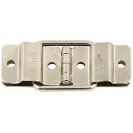 Метална панта за капаци на кутии с вграден ограничител Adam Hall 2527