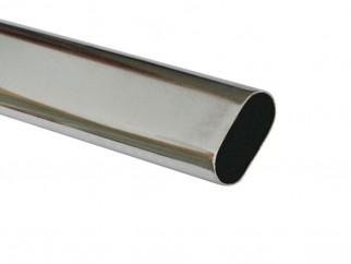 Метален овален лост за гардероб
