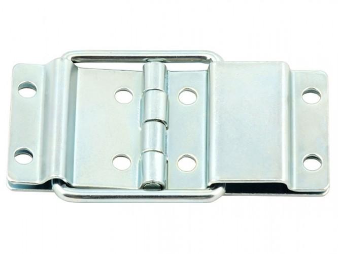 Метална панта за капаци на кутии с вграден ограничител Adam Hall 2524