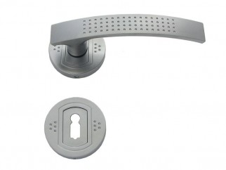 Argus Door Handle - For Standart Key, Matte Chrome