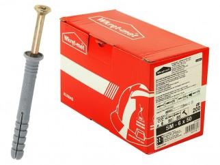 Wkret-met SM Hammer Drive Fixing - 6 x 50 mm, Box