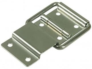 Метална панта за капаци на кутии с вграден ограничител Adam Hall 2529