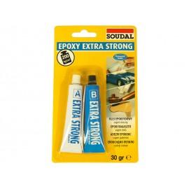 Супер силно епоксидно лепило Soudal Epoxy Extra Strong