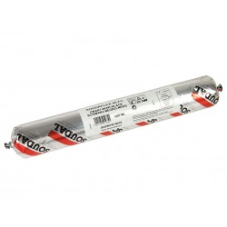 Полиуретаново лепило-уплътнител К+Д Soudal Soudaflex 40 FC - Салам (600 мл), Черен