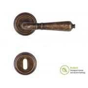 Forme Vintage Antik Interior Door Handles - Standard Key, Antique Bronze