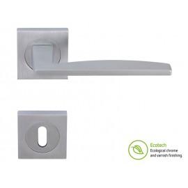 Дръжки за интериорни врати Forme Fashion Modena - Обикновен ключ, Сатен Хром