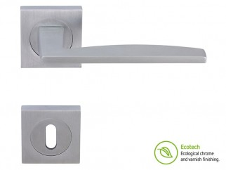 Forme Fashion Modena Interior Door Handles - Satin Chrome, For Standard Key
