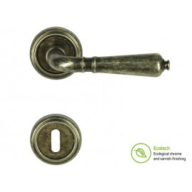 Дръжки за врати Forme Vintage Antik - Обикновен ключ, Антично сребро