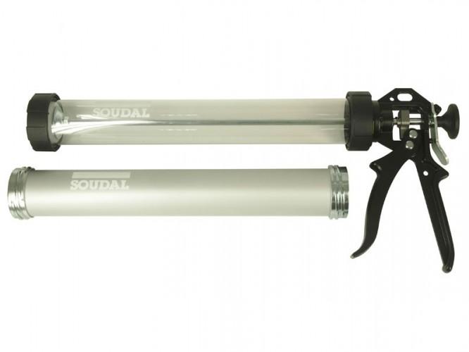 Ръчен пистолет за полиуретанови лепила-уплътнители тип салам Soudal