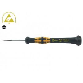 Права мини отвертка за телефони Wera Kraftform Micro 1578 A - 0.25 х 1.2 мм
