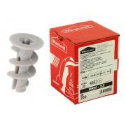 Пластмасови дюбели за гипсокартон Wkret-met DRN-23 - 200 бр.