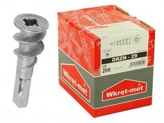 Wkret-met DRZN-29 Plasterboard Zl-Al Plugs