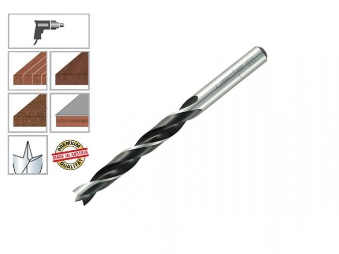 Свредло (бургия) за дърво Alpen - 3 мм