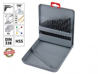 Комплект свредла (бургии) за метал Alpen HSS Sprint KM 19