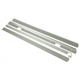 Лайстни за кухненски плотове с дебелина 28 мм