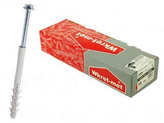 Wkret-met KPO Frame Plug With Hex Flange Screw - 16 x 200, Box