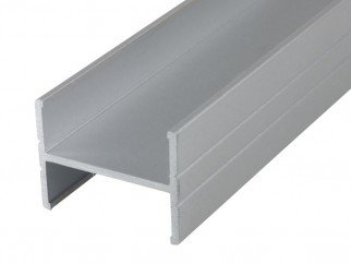 PPH18 Aluminium H-shaped Profile For Furniture Boards