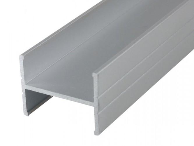 Алуминиев H-образен профил за мебели PPH18