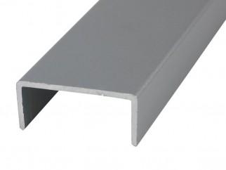 Алуминиев П-образен кант профил за мебели PNC18