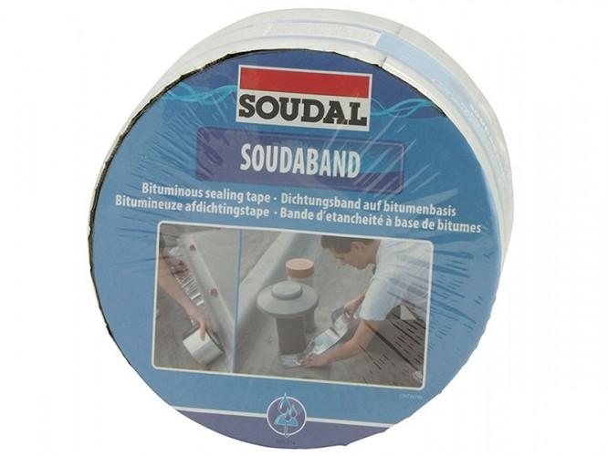 Самозалепваща се битумна хидроизолационна лента Soudal Soudaband