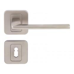 Дръжка за интериорни врати Пем - Никел мат, За обикновен ключ