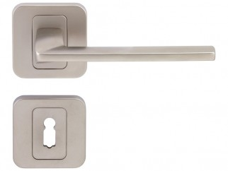 Pem Interior Door Handles - Matte Nickel, For Standard Key