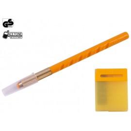 Хоби арт нож (тип скалпел) OLFA AK-1 с 25 резервни резци