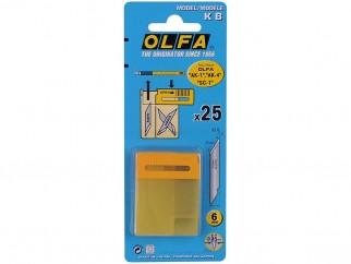 Резци (режещи пластини) за хоби арт ножове OLFA KB - Опаковка