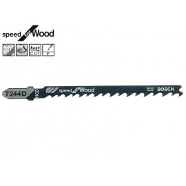Нож за зеге за дърво Bosch Speed for Wood T244D