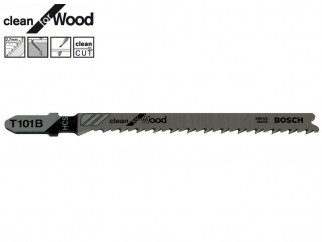 Bosch Clean for Wood T101B Jigsaw Blade