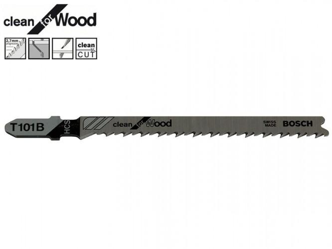 Нож за зеге за дърво Bosch Clean for Wood T101B