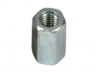 Wkret-met ZN Long Hex Nut - M6 x 18 mm