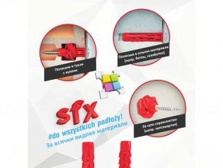 Универсални дюбели Wkret-met SFX - 5 x 25 мм