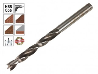 Alpen HSS Cobalt Holz Drill Bit For Wood - 8 mm