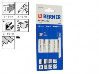 Berner MetalLine 2.0/50 Jigsaw Blades - 5 pc. package