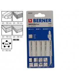 Berner Woodline 1.2-4.0/75 C Jigsaw Blades
