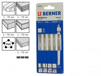 Ножове за прободен трион (зеге) Berner WoodLine 2.0 - 3.0/90