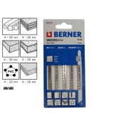 Нож за зеге за дърво Berner WoodLine 2.5/75 R - 2372
