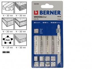 Berner WoodLine 2.5/75 Jigsaw Blades