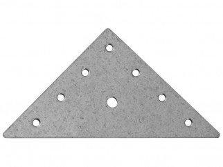 Метална плоска триъгълна планка