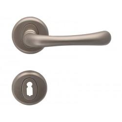 Дръжки за интериорни врати Драко - Никел мат, За обикновен ключ