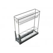 Кухненски кош за вграждане в шкаф KAMA EMK1