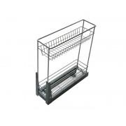 Кухненски кош за вграждане в шкаф KAMA EMK2