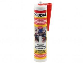 Термоустойчив силиконов уплътнител за високи температури Soudal - 300 мл
